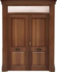 M s de 1000 ideas sobre puertas de madera en pinterest for Puertas dobles de madera