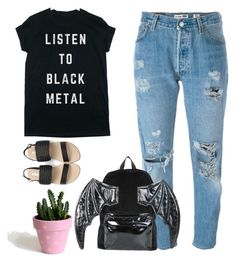 """Untitled #197"" by jem199914 on Polyvore featuring Levi's and Iron Fist"