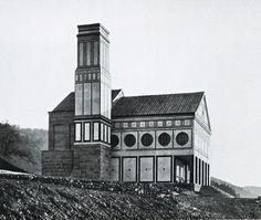 Peter Behrens, Crematorium in Hagen-Delstern, Germany, (1906-1907)