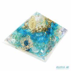 新作オルゴナイト~♪♪|ATLANTIAN ART~天然石アクセサリー・点画・オルゴナイト