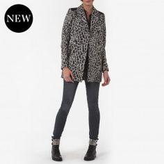 Manteau imprimé léopard, Vestes et manteaux One Step