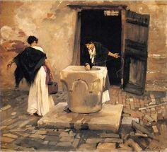 Artist - John Singer Sargent (1856-1925) American Painter.