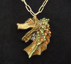 Fimo seahorse