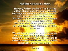 50th anniversary blessing catholic | ... prayers Catholic Prayers Saint prayers wedding prayers, short prayers