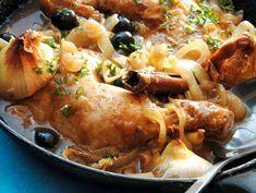 Kyllinglår med løk og hvitvin