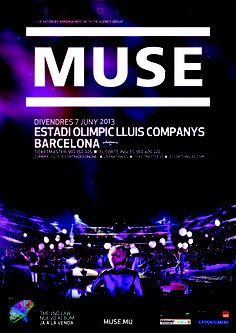 MUSE, Barcelona 7 de junio 2013 http://www.livenation.es/event/370924/muse-tickets?c=TWIT_WP_muse_231112