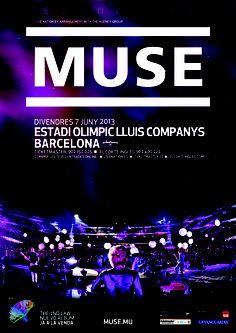MUSE, Barcelona 7 de junio 2013 http://www.livenation.es/event/370924/muse-tickets?c=TWIT_WP_muse_231112