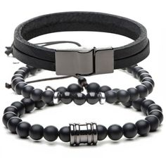 combo-pulseira-masculina-all-black-key-design