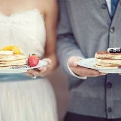 Breakfast Weddings! Unique and budget friendly way to celebrate w/ your guests (image via Lucy Dylan Weddings Blog)