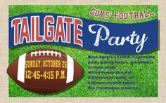 Hilton Parma Recreation Guys' Tailgate Party Event
