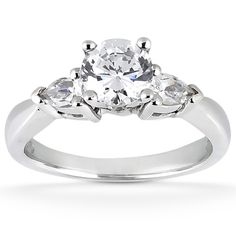 Taryn Collection Diamond Engagement Ring TQD 2061 for about $2,476