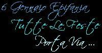 scritte BUONA BEFANA - EPIFANIA ~ CheLaVitaContinua
