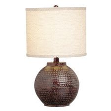 """How To Tropical 27.5"""" H Table Lamp with Bell Shade OnSale Information"""