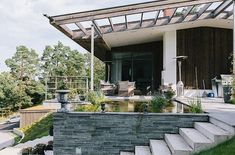 Modern Villa Outside Exterior 1