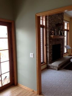 Need ideas for paint color, oak trim - Houzz