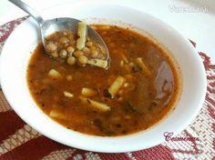 Šošovicová polievka/Mercimek çorbası (fotorecept)