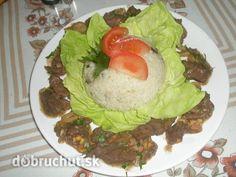 Diviačie královské ragú Cobb Salad, Tacos, Beef, Ethnic Recipes, Food, Meat, Essen, Ox, Ground Beef