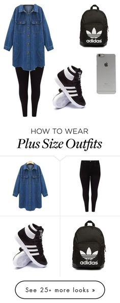 """Untitled #140"" by nicole-antonella on Polyvore featuring Studio 8, adidas, adidas Originals and Incase"