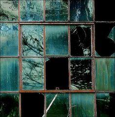Don Taylor - aqua marine window panes