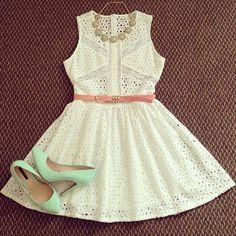 #dress#lace#cute#shoes#