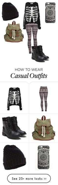 """Casual"" by izelaixchel on Polyvore featuring moda, Accessorize y Wet Seal"