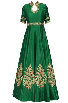 Anarkali - Buy anarkali dress, anrkali suit, anarkali gown & anarkali kurti online - Pernia's Pop Up Shop African Dress, Indian Dresses, Indian Outfits, Mode Bollywood, Long Gown Dress, Mehndi, Sari, Anarkali Dress, Indian Designer Wear