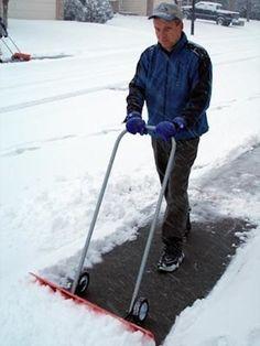 Winter Preparedness Tip from Bob Vila: upgrade your snow shovel #TheHurstTeam #BobVila #winterpreparedness