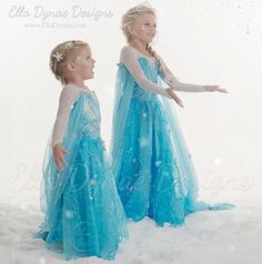 ORIGINAL Ella Dynae Custom Elsa Costume by EllaDynae on Etsy