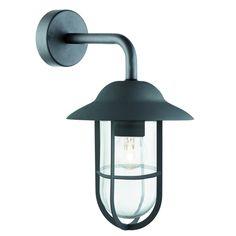 3291BK Searchlight - nástenné svietidlo - matný čierny kov