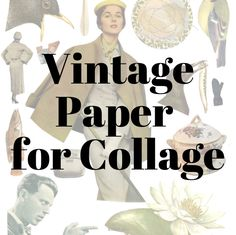 Want to create collages with vintage paper, then download these files and print as many times as you want, and get started creating. Visit my ETSY shop and see the selection of different files. CollagePaperByMANGT