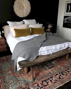 41 Cool Farmhouse Style Master Bedroom Decoration Ideas