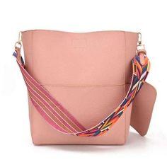 Julia Kays™ TRIBAL strap bucket bag