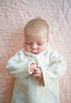 Fleece baby jumpsuit - the purl bee