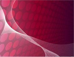 Red abstract perspective vector background