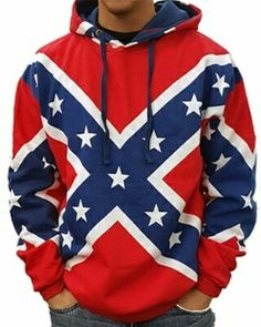 "Final mark down of the year! Get your rebel flag hoodie for $19.99 Use coupon code ""angel07"" at Iheartcamo.com"