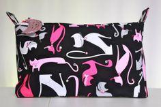 Large size zipper pouch zipper pouch travel purse by TheCosyTeapot, $15.00