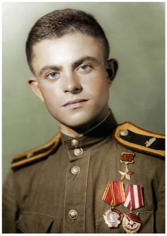 Hero Of The Soviet Union Peter A. Vlasenko