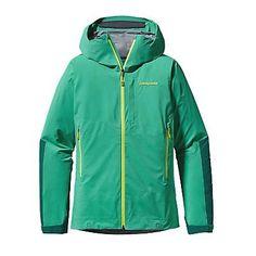 Patagonia Womens Refugitive Jacket. Aqua Stone