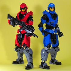Red vs Blue by ~retinence on deviantART (from Halo series)