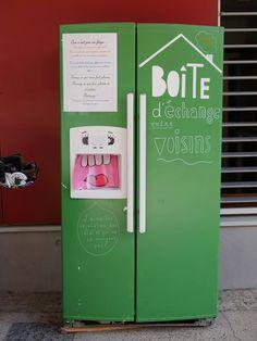 Boîte à Partage / boîte d'echange entre voisins  -  France