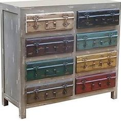 Found it at Wayfair - 2 Door 2 Drawer Cabinet Hand Painted Furniture, Solid Wood Furniture, Recycled Furniture, Refurbished Furniture, Accent Furniture, Distressed Cabinets, Wood Cabinets, Accent Cabinets, Storage Cabinets
