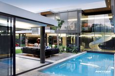 6th 1448 Houghton Residence by SAOTA and Antoni Associates