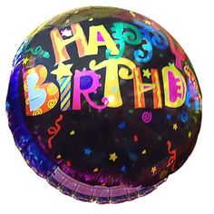 Starry Night #Birthday Foil #Balloon
