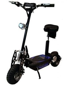 "Super Cycles & Scooters Super Turbo Elite Electric Scooter ""Black"" (Now Includes Econo/Turbo Mode Button! Electric Scooter With Seat, Super Turbo, Black Phillip, Kids Scooter, Scooter Store, Scooter Scooter, Electric Skateboard, Tricycle, 3d Printing"