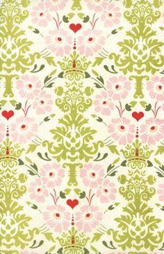 Soo lovely! Moda Basicgrey Hello Lucious Garden Damask Natural