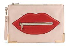 Aldo Summer 2014 Collection - pretty lip clutch