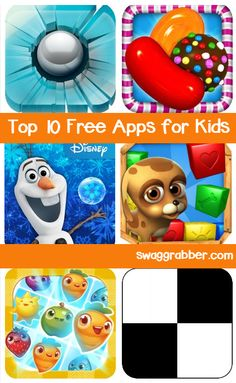Top 10 Free Apps for Kids