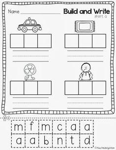 Miss Kindergarten: Super CVC Practice!