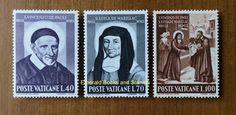 EBS Vatican City Città del Vaticano 1960 Vincent de Paul & de Marillac 295-297** in Stamps, Europe, Vatican | eBay