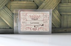 Lavender VEGAN Soy Tart 3 oz Handmade by by TheNaturalApothecary, $5.00